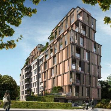 Ново строителство в София