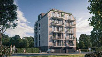 Новострояща се жилищна, бутикова сграда в кв. Витоша.